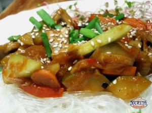 Warzywa w sosie curry