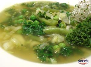 Zielona zupa wiosenna