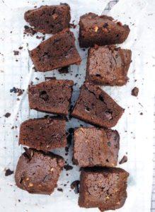brownie z mlecznej czekolady