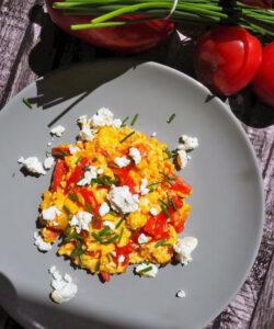 jajecznica po bałkańsku